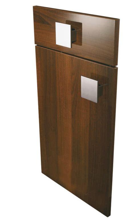 replacing cabinet doors replacement kitchen cabinet doors high gloss walnut ebay