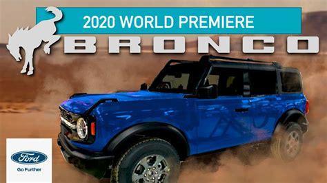 ford bronco fully revealed