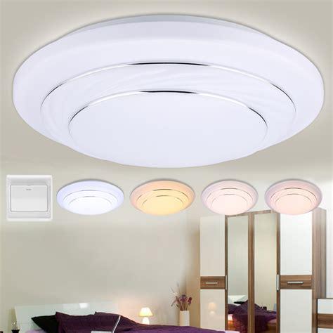 24w Led Round Flush Mount Ceiling Light Downlight Kitchen