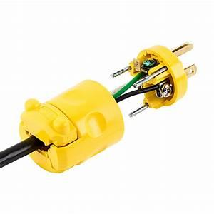 515pv Straight Blade Plug