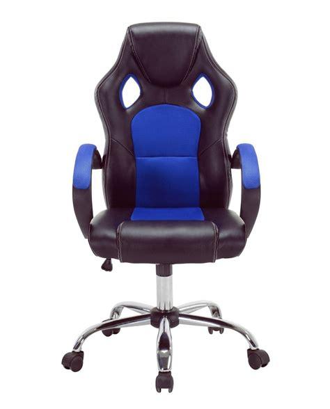 fauteuil bureau gaming chaise de bureau racing gaming piétement chrome