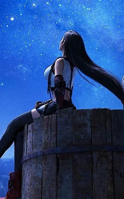 Tifa Remake Fantasy Final Lockhart Phone Wallpapers