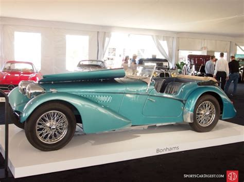 1937 Bugatti Type 57sc Sports Tourer, Body By Vanden Plas