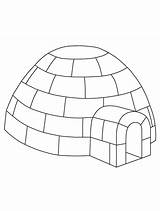 Igloo Coloring Preschool Craft Winter Printable Pages Yahoo Crafts Penguin Jumbo Template Letter Sheet Printables Info Templates Drawing Gemerkt Von sketch template