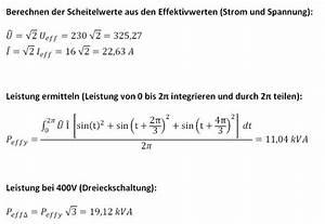 Scheinleistung Berechnen : max leistung mit 16a drehstrom ~ Themetempest.com Abrechnung