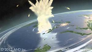 Animated Pictures Of The Earth Animation With Asteroid Hitting Earth Youtube