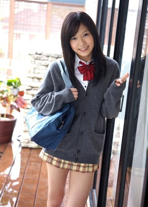 Japanese School Uniform学校制服 Grey sweater Bags and Schoolgirl