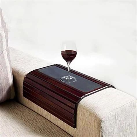 wood sofa arm tray phone holder buy sofa arm tray