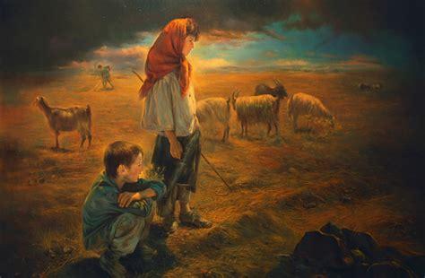 paintings  morteza katouzian  sweet world