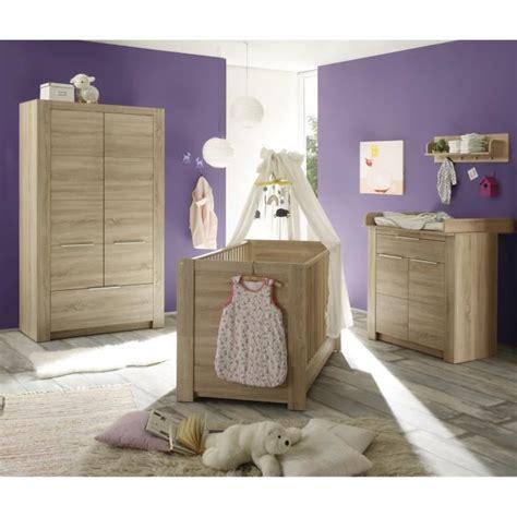 chambre complete cdiscount carlotta chambre bébé complète 3 pièces lit armoire