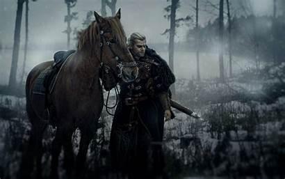 Witcher Geralt Rivia Wallpapers Cosplay Horse Sword