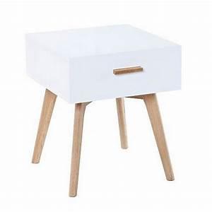 Table Bois Pied Blanc : pied table de chevet ix75 jornalagora ~ Teatrodelosmanantiales.com Idées de Décoration