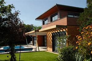 maison bois essonne dpt 91 maison d39architecte With maison bois d architecte