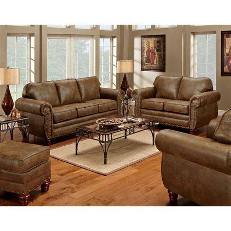 american furniture classics sedona  piece living room set  sleeper sofa reviews wayfair