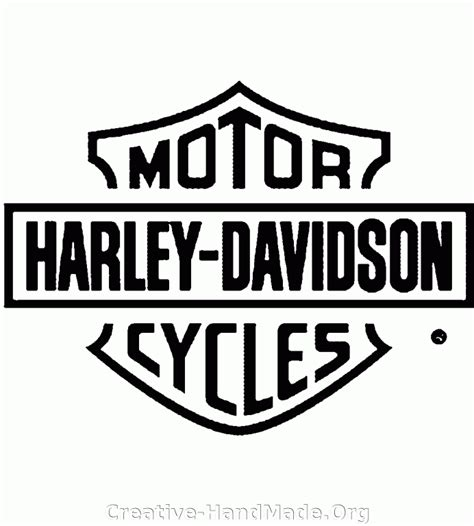 Free Printable Harley Davidson Stencils Stencil Images