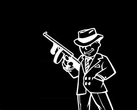 Pip Boy Gangster Fallout 3 Wallpaper