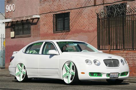 custom lexus gs400 modified lexus gs400 with bentley front end is a winning
