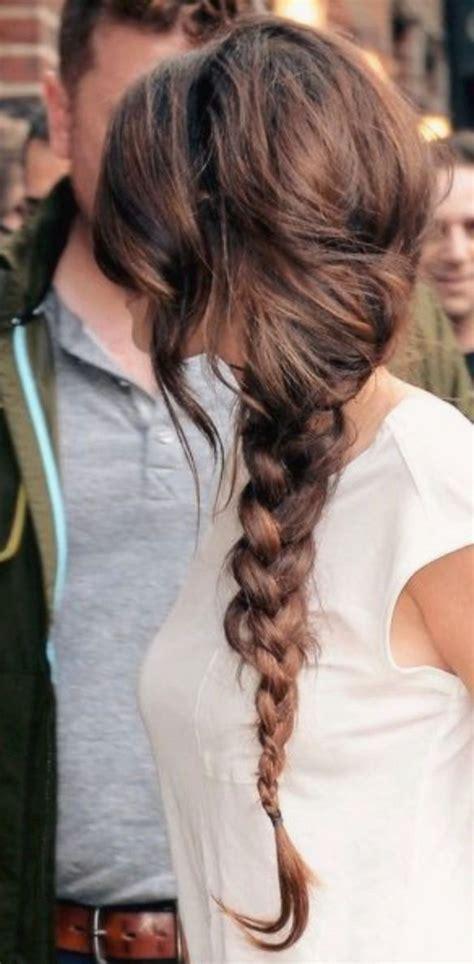 Best 25  Side braid hairstyles ideas on Pinterest   Braid