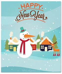 20 Cute Happy New Year Greeting Cards
