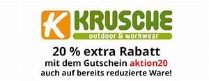 Extra Rabatt : 20 extra rabatt bei krusche outdoor ~ Buech-reservation.com Haus und Dekorationen