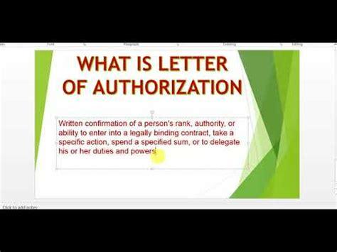 letter  authorization  gst letter