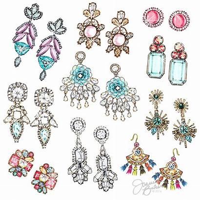 Baker Earrings Joanna Instagram Illustration Illustrations Happy