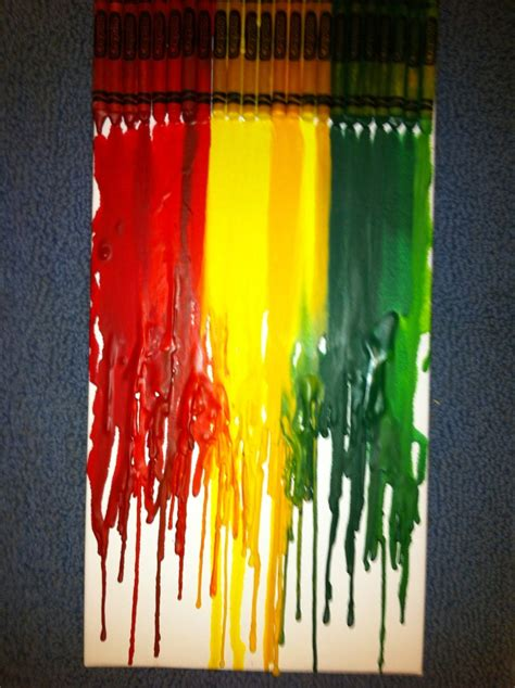 rasta colors rasta colors crayon wax i made