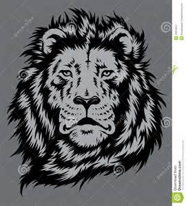 Royalty Free Vector Lion Head