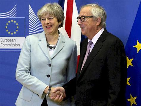 Durchbruch Beim Brexit  Brüssel Empfiehlt Start In Phase