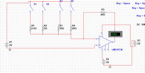 Amp Multisim Dac Summing Electrical