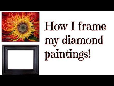 frame  diamond paintings   wood frame