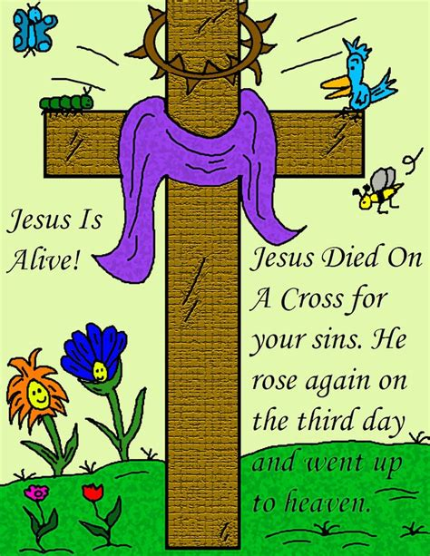 free printable easter pictures posters jesus is risen 907   6a7b6d2911f83ae498422945ddb0dc78