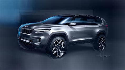 Jeep Yuntu Concept Is A 7seat Phev Suv