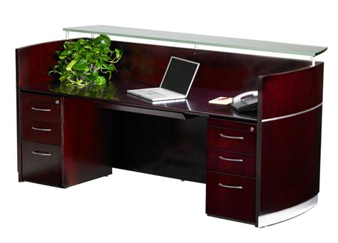 reception counter wood reception area furniture