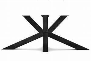 Tischgestell Metall Nach Mass : tischgestell kreuzfu stahl nach ma holzpiloten ~ Markanthonyermac.com Haus und Dekorationen