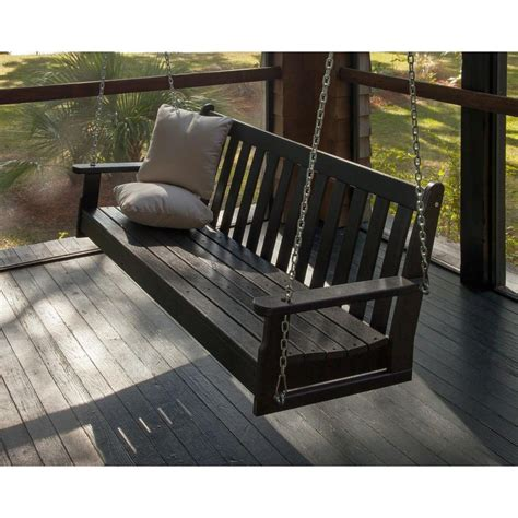 home depot porch swing porch swings patio chairs the home depot