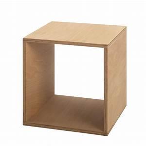 Tojo Cube Table De Chevet 35x35 Cm Tojo