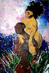 Adam and Eve by samax on DeviantArt