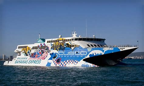 Fast Boat Miami To Bahamas by Fast Ferry To The Bahamas Balearia Caribbean Groupon