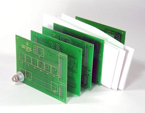 Circuit Board Mail Holder Cool Electronic Projects Diy