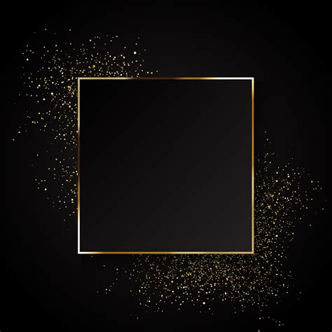elegant gold glitter background   vector art