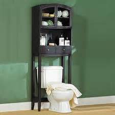 bathroom etagere over toilet interior design decor blog
