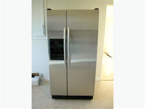 Kitchenaid Side By Side Stainless Refrigerator With Ice