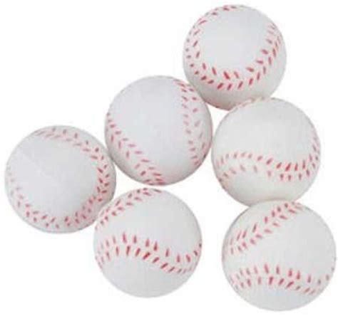 mm foam miniature baseballs pkg   doll