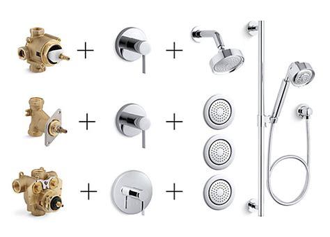 shower valves trims controls guide bathroom kohler