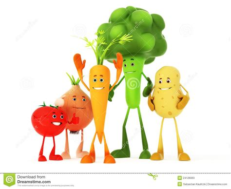 cuisine humour food characters stock photos image 24126063