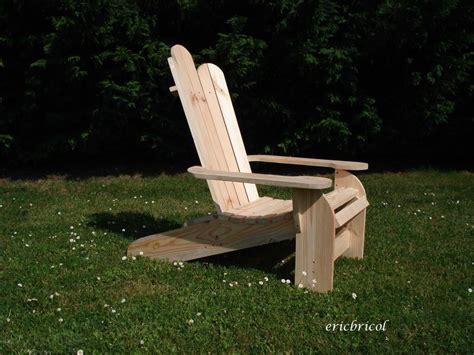 un fauteuil adirondack pour l 233 t 233 recyclage et cie