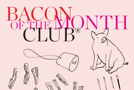 bacon of the month club 2011 foodie gift guide brown eyed baker