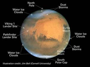 Diagram of Mars Red Planet (page 3) - Pics about space