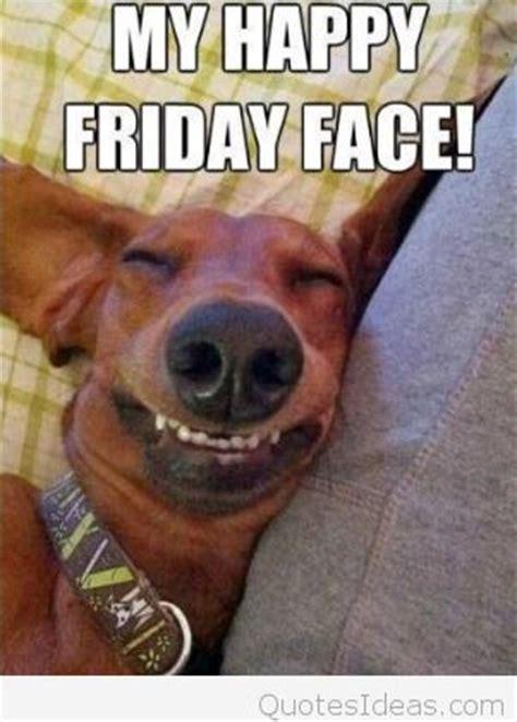 funny dog happy friday cartoon